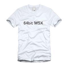64bitMSX Tシャツ